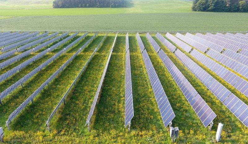 Điện mặt trời hệ lắp đặt mặt đất