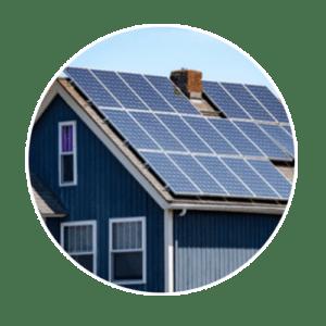 Hệ thống điện năng lượng mặt trời áp mái cho gia đình
