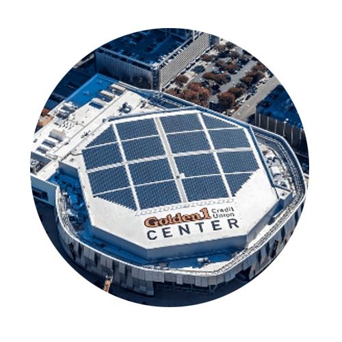 Hệ thống điện năng lượng mặt trời áp mái cho tòa nhà
