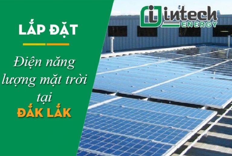 Lắp đặt điện mặt trời tại Đắk Lắk