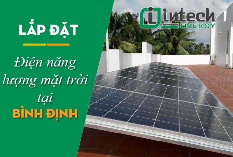 Lắp đặt điện năng lượng mặt trời tại Bình Định