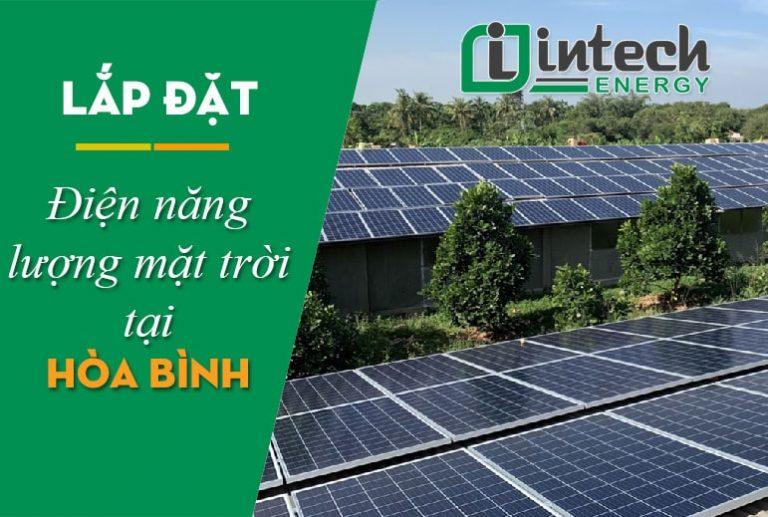Lắp đặt điện năng lượng mặt trời tại Hòa Bình