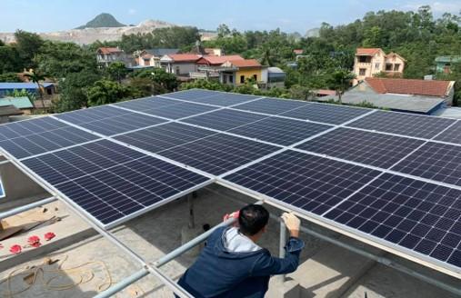 Lắp đặt điện năng lượng mặt trời 5,4kWp cho gia đình Anh Hiếu