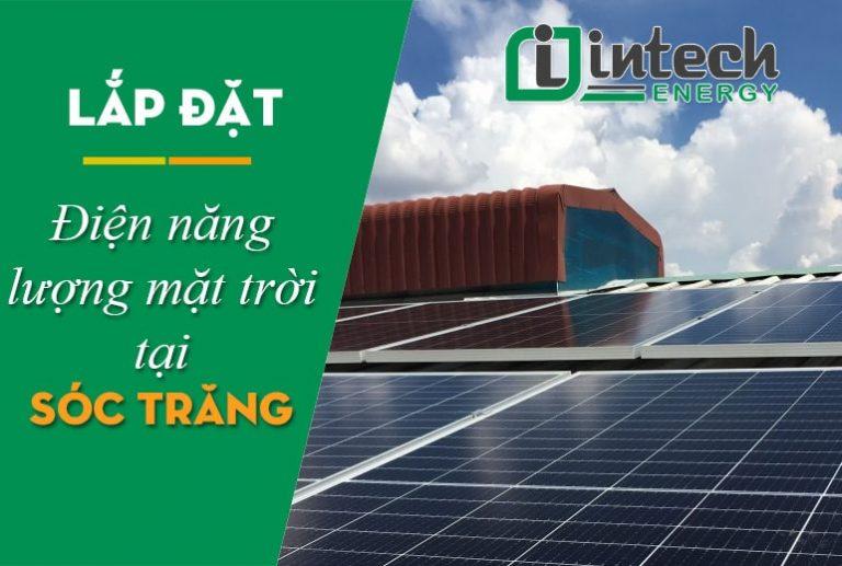 Lắp đặt điện năng lượng mặt trời tại Sóc Trăng
