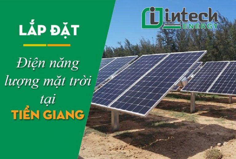 Lắp đặt điện năng lượng mặt trời tại Tiền Giang