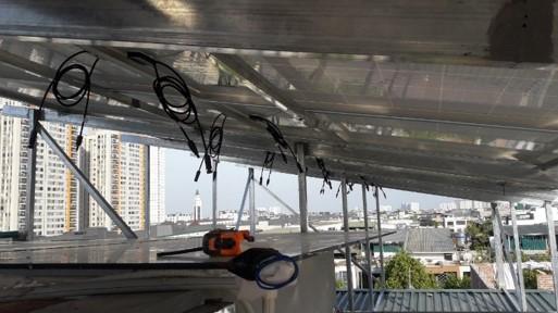 Lắp đặt điện năng lượng mặt trời 72kWp cho gia đình Anh Tùng