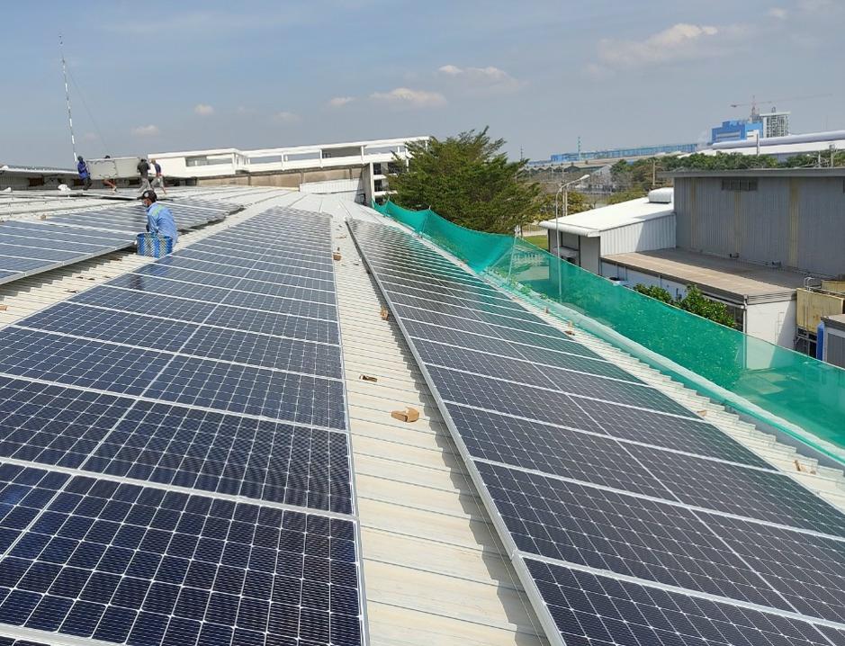 Thông tin dự án điện năng lượng mặt trời 720kWp cho công ty may công nghiệp GELAN