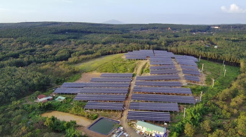 dự án điện năng lượng mặt trời 992x3 kWp tại Đồng Tâm Bình Phước
