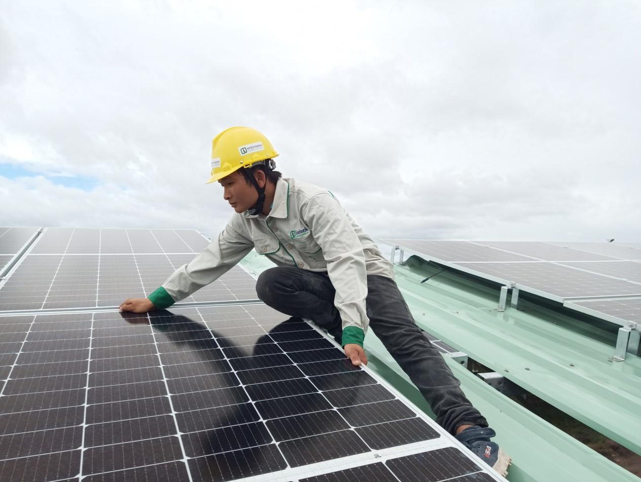 dự án điện năng lượng mặt trời 995 kWp tại công ty Hiền Mai Gia Lai