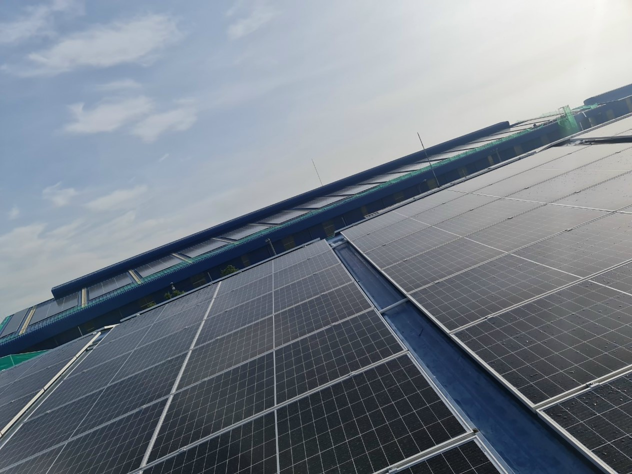 Thông tin dự án điện năng lượng mặt trời 2,385 MWp cho công ty điện Khởi Phát