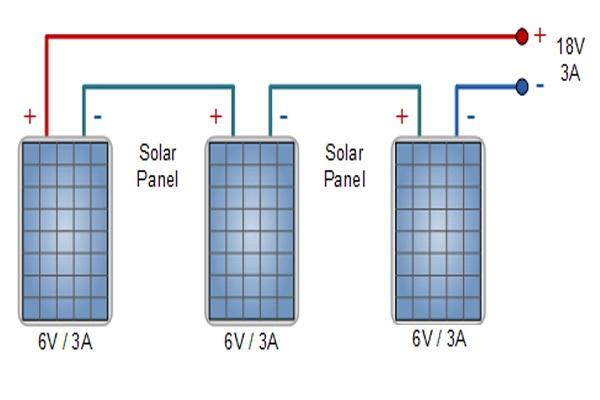 Sơ đồ đấu nối pin mặt trời