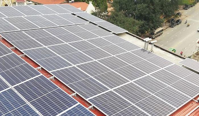 Dự án năng lượng mặt trời hộ gia đình