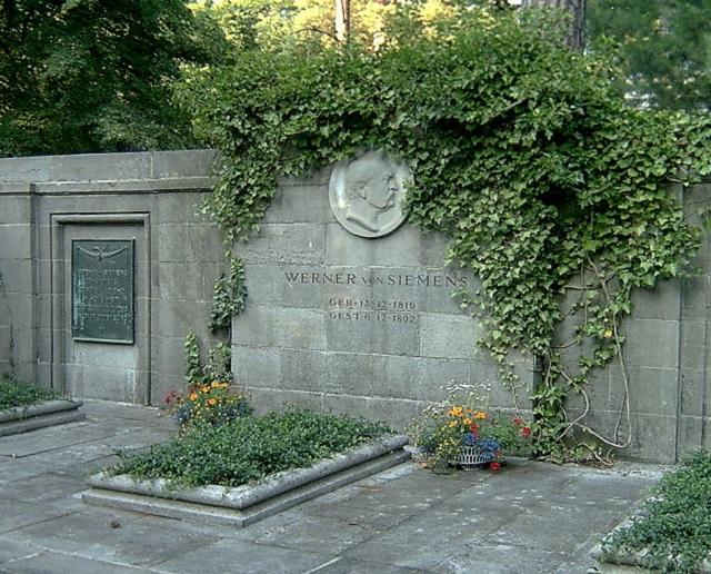 Werner von Siemens qua đời
