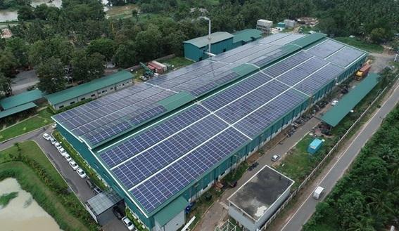Lắp điện mặt trời cho nhà máy xí nghiệp