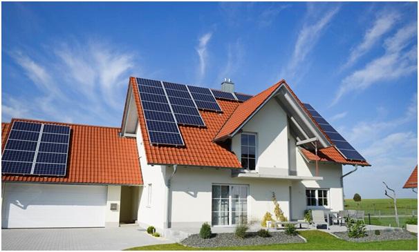 Điện mặt trời mái nhà có lưu trữ cho hộ gia đình