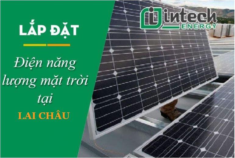 Lắp đặt điện mặt trời tại Lai Châu