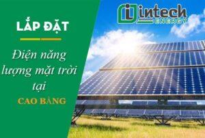 Lắp đặt điện mặt trời tại Cao Bằng
