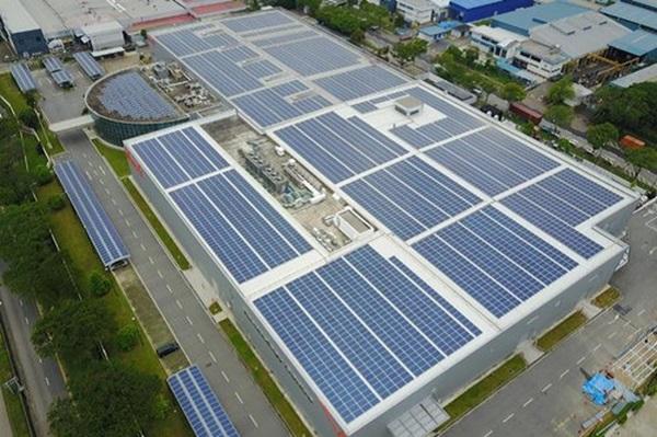 Tiềm năng phát triển điện mặt trời nhà máy, xí nghiệp
