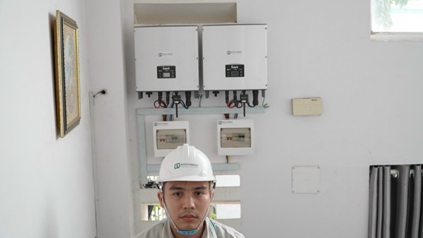 Chi tiết dự án lắp đặt điện mặt trời tại quận 7 - Hồ Chí Minh
