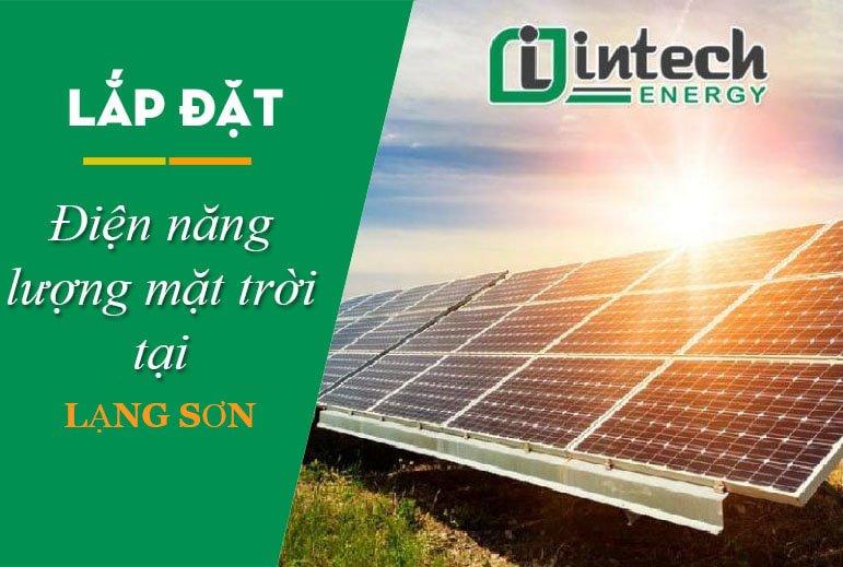 Lắp đặt điện năng lượng mặt trời Lạng sơn