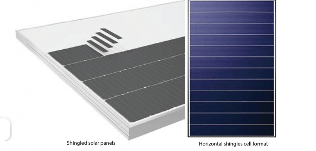 Shingled Cells – Overlapping cells